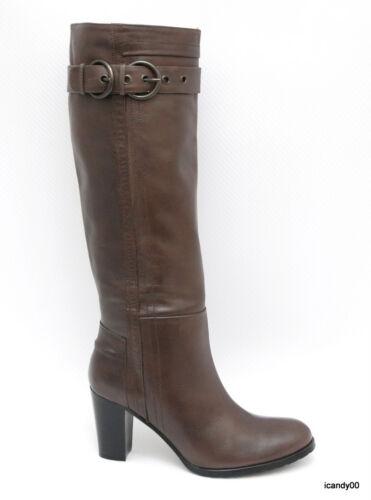 à haut bottes en Brun talon Chaussure 6 36 genou hauteur Italie cuir et Nouveau Ramona zxTYqXwqt