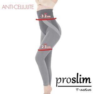 Anti-cellulite-minceur-Leggings-proslim-t-active-avec-tourmaline-Billes-NEUF