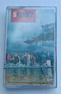 S-Club-7-S-Club-album-1999-audio-Cassette-Tape-Free-shipping-pop-music-free-shi