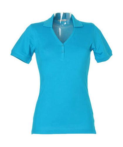 Sophia Comfortec® V Neck Damen Polo ShirtKustom Kit NEU