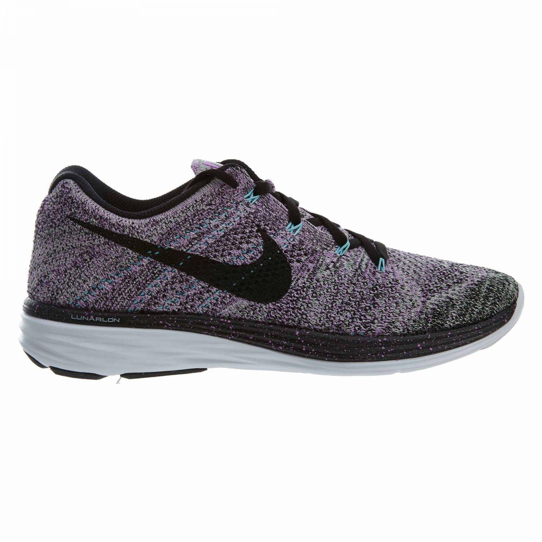 Nike Flyknit Lunar 3 Womens 698182-500 Fuchsia Glow Running Shoes Comfortable Casual wild
