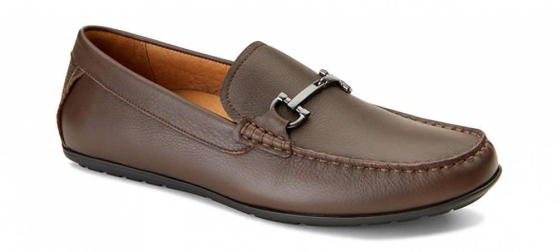 Vionic Men's Mercer Mason Driving Moccasins – Leather Suede Loafer Men...