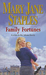"""AS NEW"" Staples, Mary Jane, Family Fortunes: An Adams Family Saga Novel (The Ad"