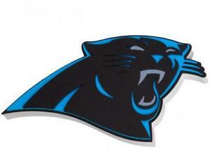 Carolina-Panthers-XXL-Relief-3D-Optik-Magnet-Foam-Logo-NFL-Football