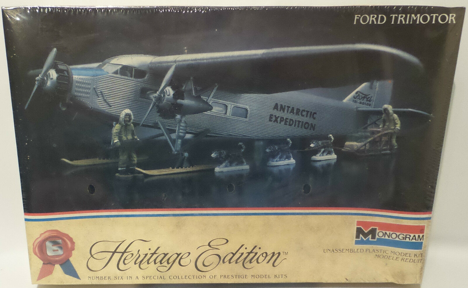 AVIATION   FORD TRIMOTOR MONOGRAM SCALE MODEL KIT (MLFP)