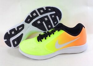 819416 803 Yellow Orange Sneakers Shoes
