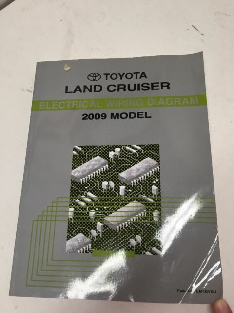 2009 Toyota Land Cruiser Oem Factory Electrical Wiring