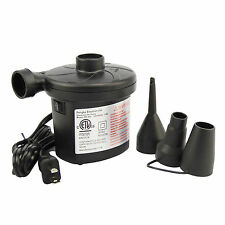110V Portable High Power Two Nozzle Air Blower Electric Balloon Inflator Pump 1x
