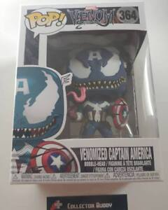 Marvel Venom Venomized Captain America #364 Pop Vinyl Funko Figure Avengers