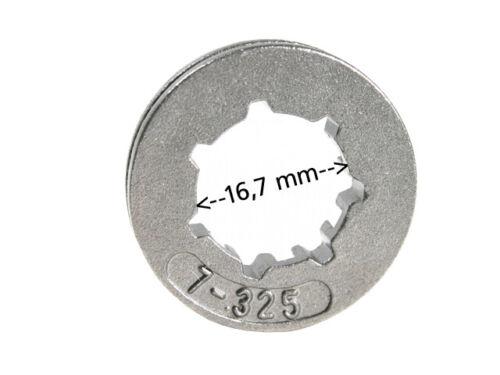 "Ringrad 325/"" 7Z für Stihl MS310 MS 310 16,7mm"
