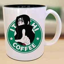 Itachi Uchiha Starbucks Anime Manga Japanese Insipred Cartoon Geek Nerd Mug
