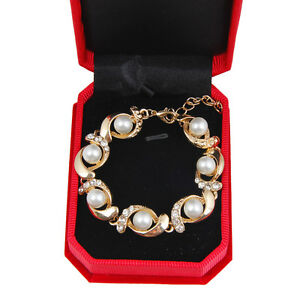 Fashion-Charm-Women-Pearl-Crystal-Rhinestone-Cuff-Bracelet-Bangle-Jewelry-Gift