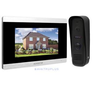 HOMSECUR HDK Video Home Intercom with Waterproof HD Camera /& Recording Snapshot