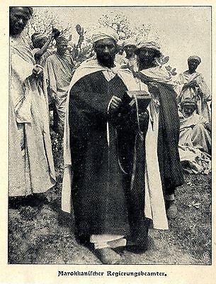 1903 Marokko * Marokkanischer Regierungsbeamter In Der Menge Bequem Und Einfach Zu Tragen