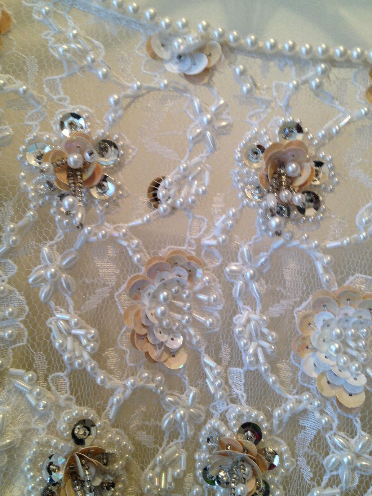 Womens Claire Beaded Wedding Dress  - image 2