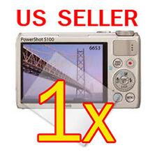 1x Canon PowerShot S100 Digital Camera LCD Screen Protector Cover Guard Film