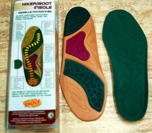 Moneysworth /& Best Hiker Boot Sneakers Shoes Full Length Day Insoles M/&B