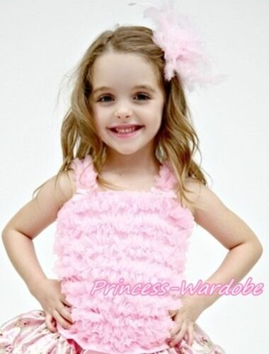 Hot Pink Romantic Rose Tank Top Pettitop Shirt Girl For Pettiskirt NB-8Year