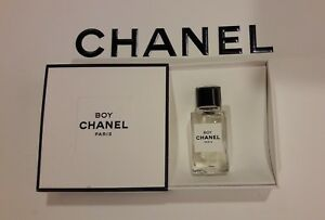 18d733fb8e Details about LES EXCLUSIFS DE CHANEL Boy EAU DE Parfum EDP 4ml 0.12 FL.  OZ. NIB Miniature