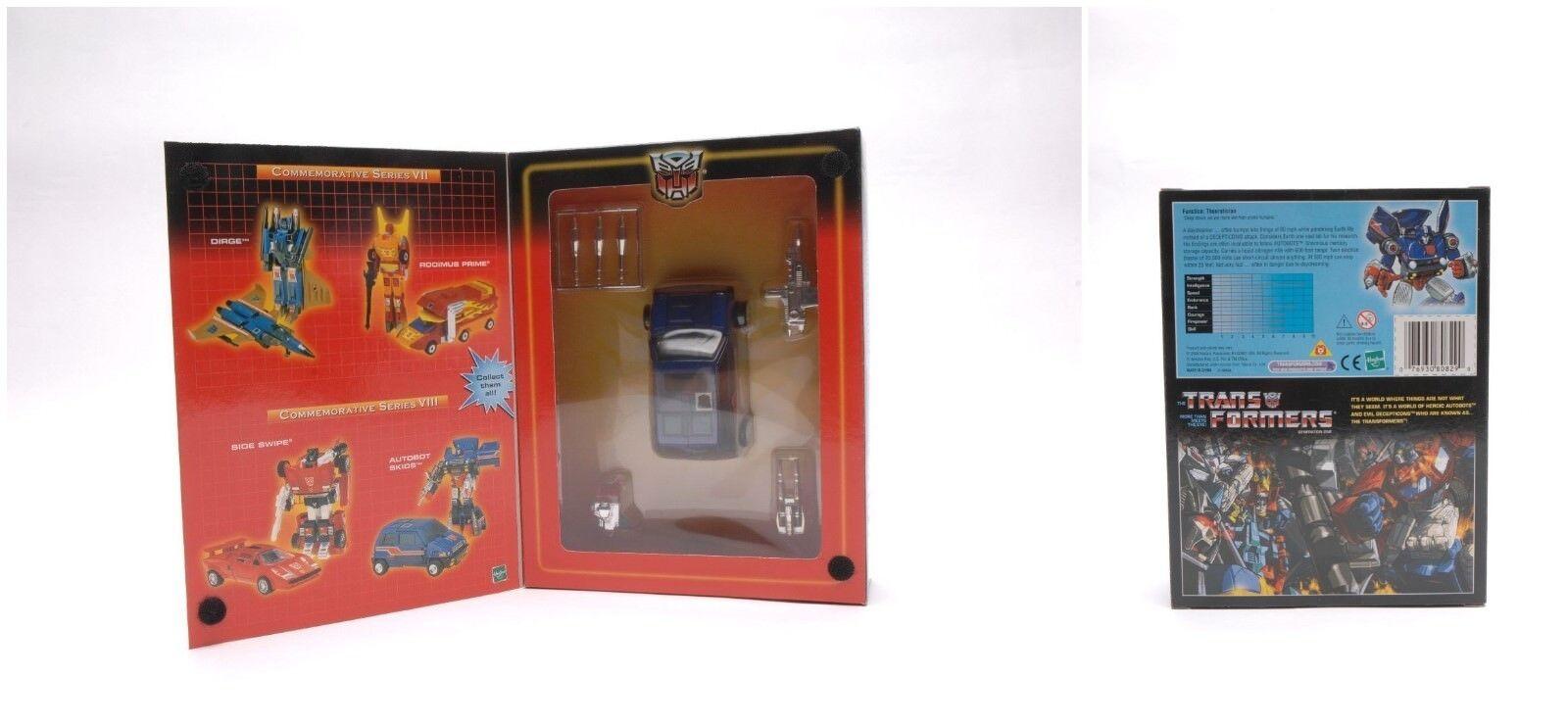 Transformers Autobot Skids MISB Hasbro G1 Reissue Christmas Gift