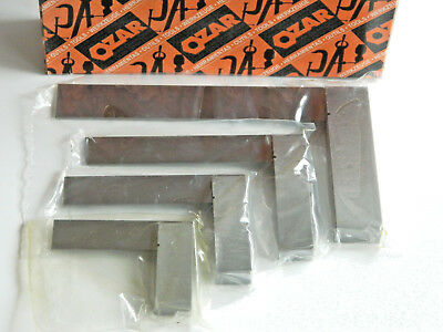 "9/"" Ozar ES4L /& 12/"" Precision Machinist Square Set Large Sizes 4/"" 4 Pc 6/"""