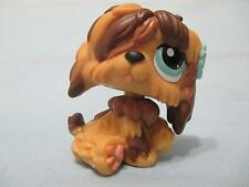 Littlest Pet Shop LPS 1077 Brown & Tan Sheep Dog 100% Authentic head spins