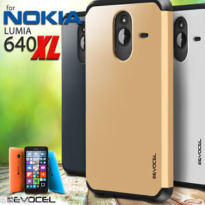 separation shoes 8b547 ae113 Details about Microsoft Lumia 640 XL Case, Evocel Dual Layer Armor  Protector (Lumia 640 XL)