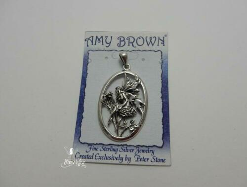 Water Sprite Fairy Pendant by Amy Brown sterling silver licensed fantasy artist