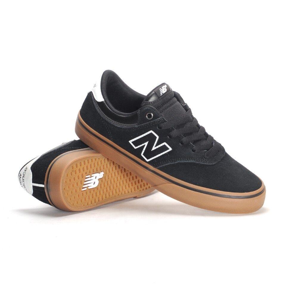 Para hombre new numérico balance numérico new 255 Skateboarding Zapatos  Negro Goma (Bkg) 9b2f50