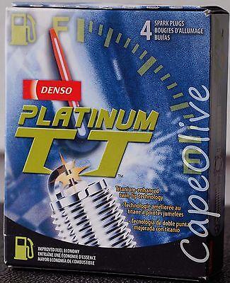 4 PCS - Denso PK16TT 4503 Platinum TT Spark Plugs