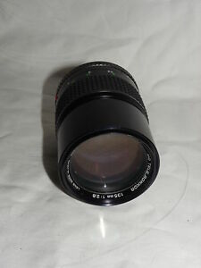 Objektiv-Minolta-MD-TELE-ROKKOR-135mm-1-2-8-Bajo-fuer-Minolta-XG-1