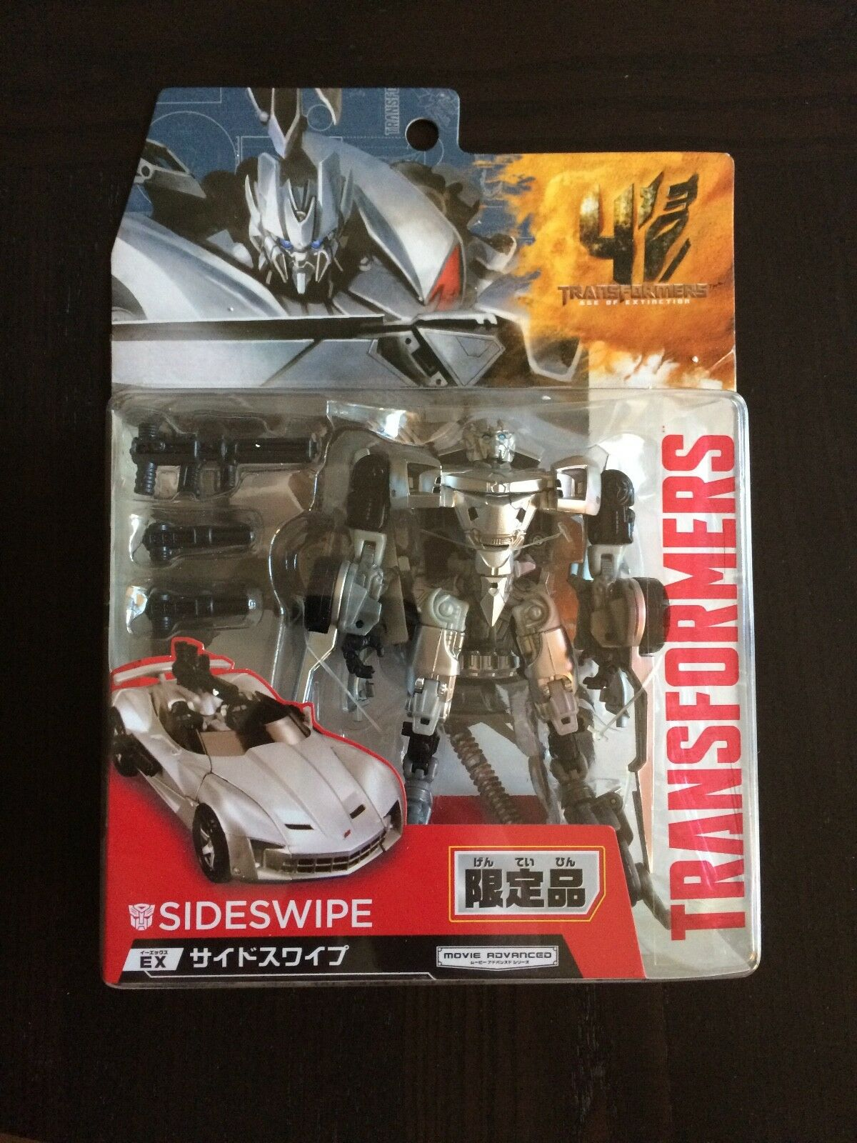 Transformers Age of Extinction Takara AOE Movie Advanced AD-EX Sideswipe MOSC