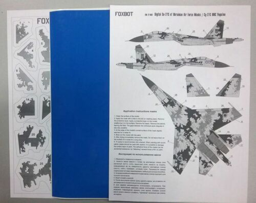 Foxbot Decals 1//72 Digital Sukhoi Su-27s #Fm72003
