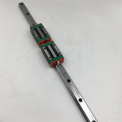 HGH25CA linear bloque de transporte CNC Guía de carril lineal HGR25 de movimiento lineal y 2 un