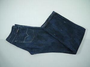 DIESEL-5-Pocket-Herren-Jeans-Stretch-gerades-Bein-Gr-31-used-Look-RN93243