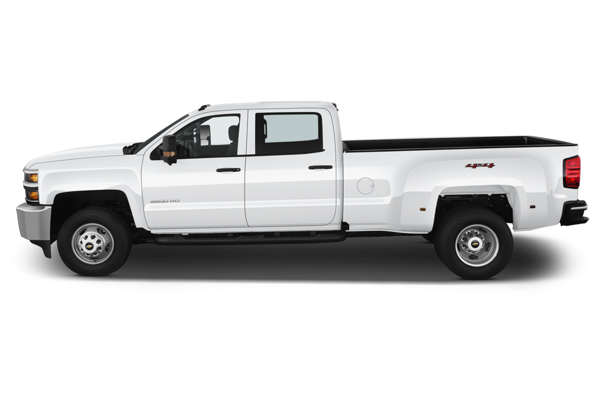 Chevrolet Silverado 3500 side view