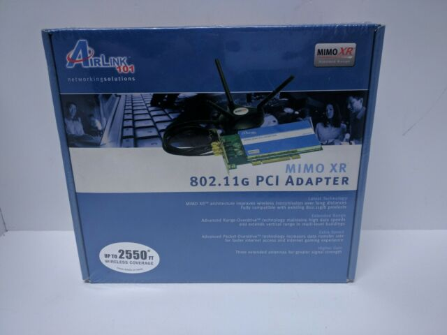 AIRLINK101 MIMO XR PCI DRIVERS FOR PC