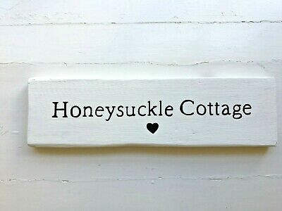 Personalised Painted Wooden Sign House Garden Gate Outdoor Stake Name Exterior