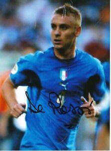 Daniele-De-Rossi-Italien-15-x-20-cm-Fusball-Foto-signiert-403113