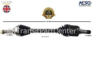 FORD TRANSIT CONNECT 1.6 TDCi DRIVE SHAFT NEAR//SIDE /& CV JOINTS 2013/>ON