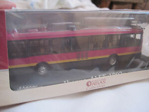 Atlas-1-72-Ikarus-415T-1992-Trolleybus-Collection-Diecast-New-Boxed-Unopened