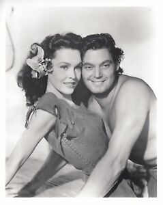 Image result for maureen o'sullivan and johnny weissmuller