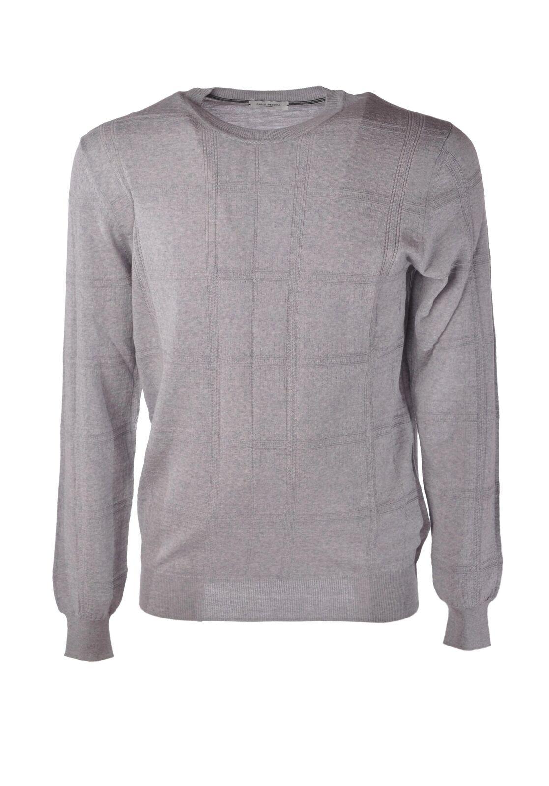 Paolo Pecora  -  Sweaters - Male - grau - 4103702A183920