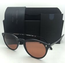 2850c6c6c9e OLIVER PEOPLES The ROW Sunglasses O MALLEY NYC 5183SM 100553 Black w   Persimmon