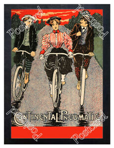 Historic-Continental-Tyres-Advertising-Postcard-1