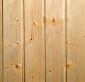 Doghe perline verniciate pino svezia 1 cm 1 scelta for Perline legno obi