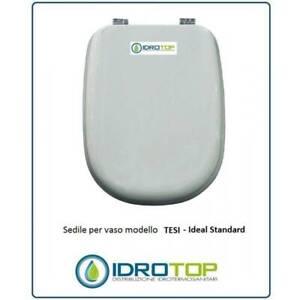 Ideal Standard Tesi Sedile.Copriwater Ideal Standard Tesi Bianco I S Cerniera Rallentata Soft Close Ebay