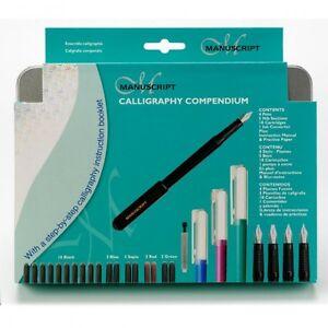 Manuscript-Calligraphy-Compendium-30-Piece-Hand-Writing-Set-NEW