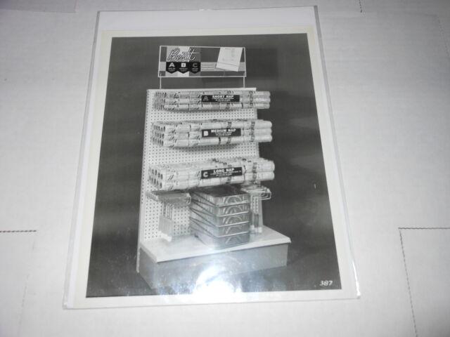 #1597 PHOTO NEGATIVE  -  ADVERTISING - 1965 BESTT PAINT STORE DISPLAY SHELF
