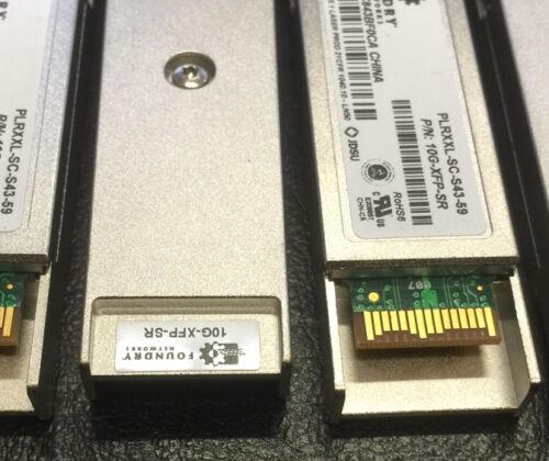 FOUNDRY 10G-XFP-SR PLRXXL-SC-S43-C1 10GB 850nm XFP Transceiver Module